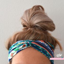 Twist Headband - Bohemian Blue