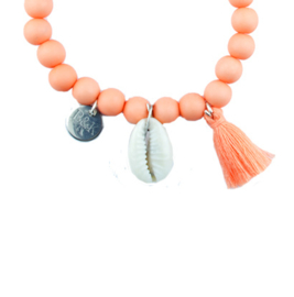 Shell Armparty - Peach