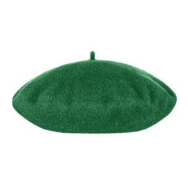 Baret Wol - Groen