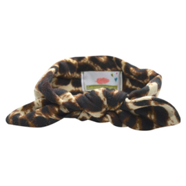 Knot Headband Girls - Leopard