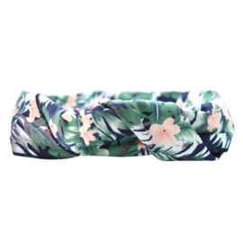 Headband Bandeau - Tropical (dark)