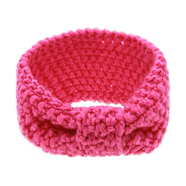 Winter Headband Girls - Pink