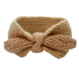Winter Headband Girls - Brown