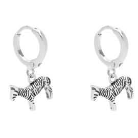 Hoops Zesty Zebra - Silver