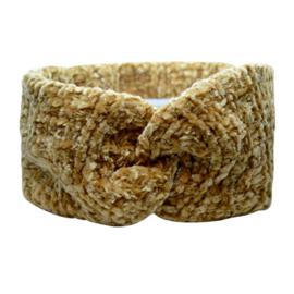 Winter Headband Fluffy - Brown