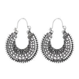 Boho Fashion Earrings - Silver