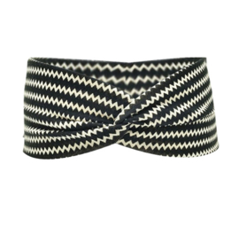 Twist Headband - Black & White