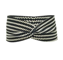 Twist Headband - Black & White