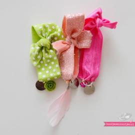 Armbandje Meisje Elastiek - Roze