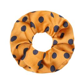 Scrunchie Dot - Yellow and Black