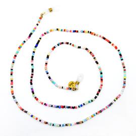 Zonnebrilkoordje kleine kraaltjes kleurrijk