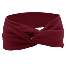 Twist Headband - Red