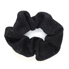 Scrunchie Glitter - Black