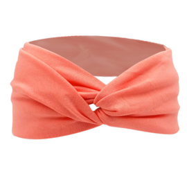Twist Headband - Peach