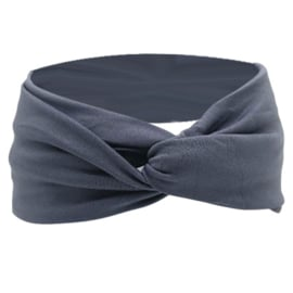 Twist Headband - Grey