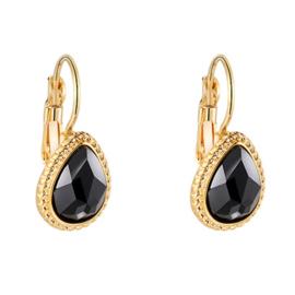 Sparkle Drop - Gold & Black