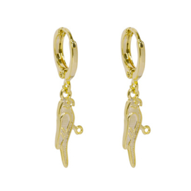 Hoops Pretty Parrot - Gold