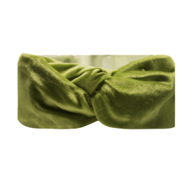 Haarband Bandeau Velvet Groen