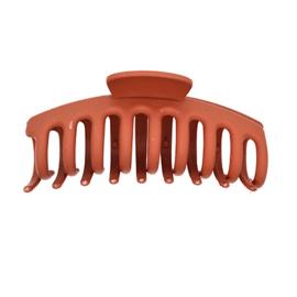 Haarklem bruin/oranje