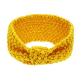 Winter Headband Girls - Yellow