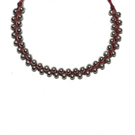 Mix Bracelet - Red (Dark)