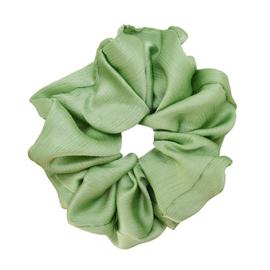 Scrunchie pastel groen