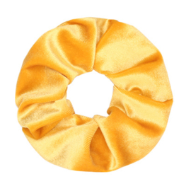 Scrunchie Velvet - Yellow
