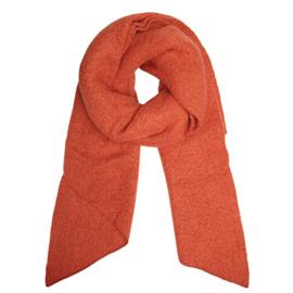 Sjaal herfst/winter oranje/bruin