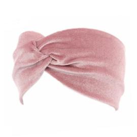 Velvet Headband - Pink
