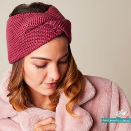 Winter Haarband Soft - Oudroze