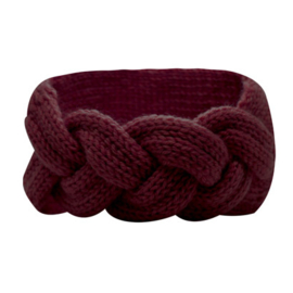 Winter Headband Braid - Red