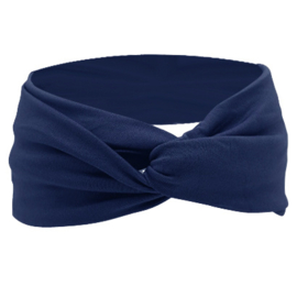 Twist Headband - Blue