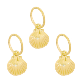 Hair Jewelry - Shell & Gold