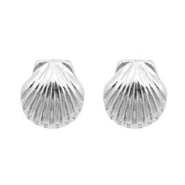 Shell Stud - Silver