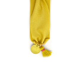 Yellow, Gold & Tassel