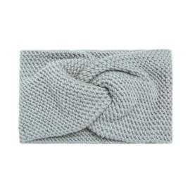 Winter Haarband Soft - Lichtgrijs