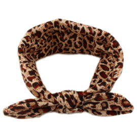 Knot Headband Girls - Tiger