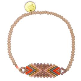 Crystal & Mini Beads - Pink