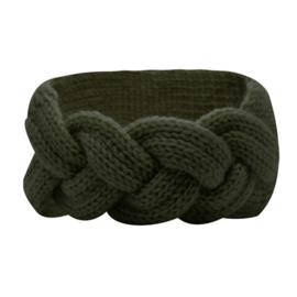 Winter Headband Braid - Green