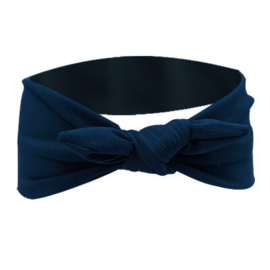 Knot Headband - Blue