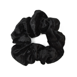 Scrunchie Velvet - Black