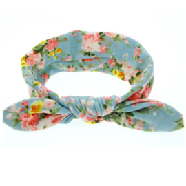 Knot Headband Girls - Flowers
