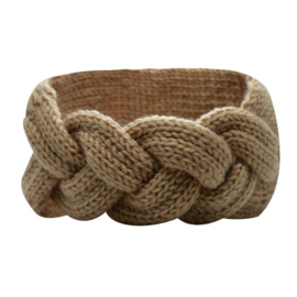 Winter Headband Braid - Beige