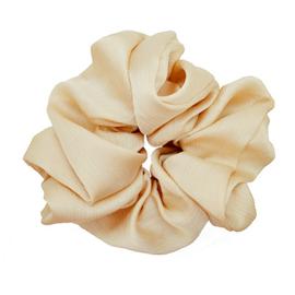 Scrunchie pastel beige