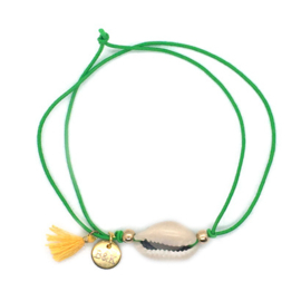Double Armparty Shell - Green