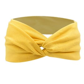 Twist Headband - Yellow