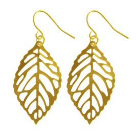 Cute Leaves - Gold