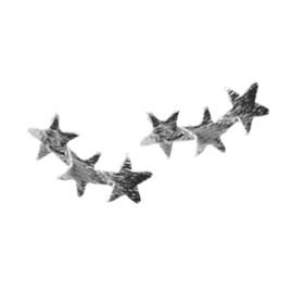 Stars Stud - Silver