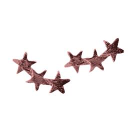 Stars Stud - Rosé Gold