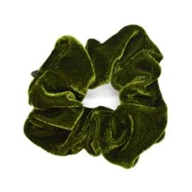 Scrunchie Velvet - Green